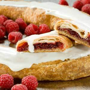 Raspberry Kringles - Case of 16