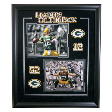 Packers Limited Edition Photos - Aaron Rodgers and Clay Matthews