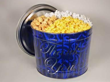 Thank You Popcorn Gift Tin - 2 Gallon