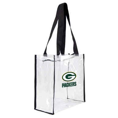 Packers Clear Stadium Tote Bag